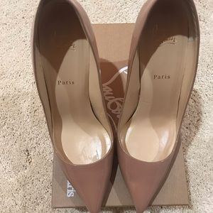 Authentic Christian Louboutin Pigalle 100